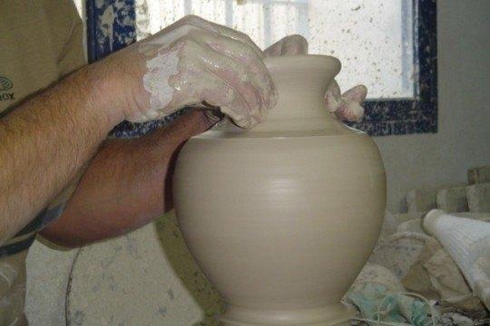 ceramica en el torno