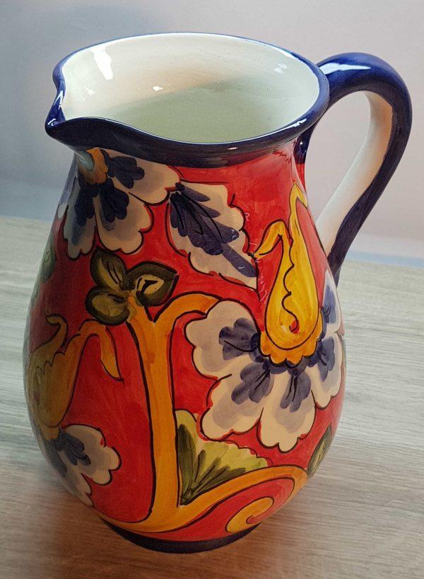 Jarra de agua cerámica