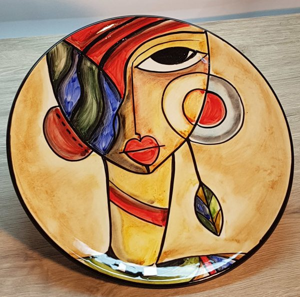 Plato cerámica Barcelona