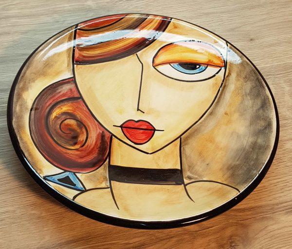 Plato cerámica Girona