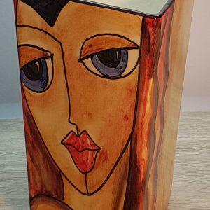 Florero Cubismo 2